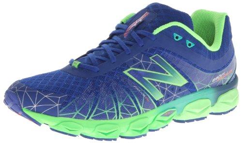 888098143058 - New Balance Men's M890 Running Shoe,Blue/Green,7.5 4E US carousel main 0