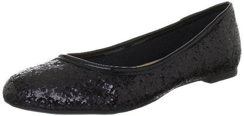 Via Uno 11202202 Damen Ballerinas Schwarz (Black)
