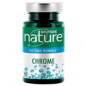 Cromo - 60 cápsulas - Mantenimiento de la glucemia normal: Amazon ...
