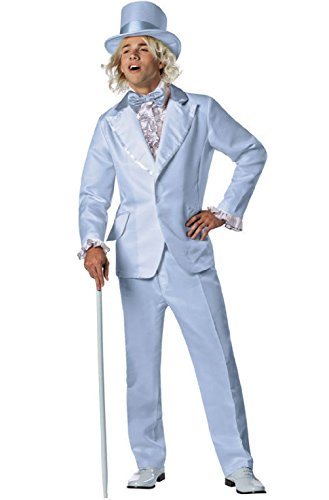 Dumb and Dumber Harry Dunne Blue Tuxedo Adult Halloween -