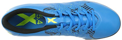 Adidas x 15.4TF Chaussures de Football s77888Mult inocken gazon synthétique Bleu (solblue/SYELLOW/cblack)