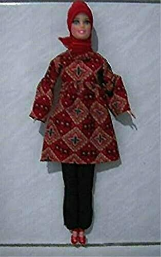 Muslim Doll With Handmade Clothes Islamic Doll Hijabi Doll Abaya Doll Muslimah Doll Girls Eid Gift
