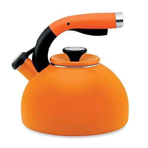 Circulon Morning Bird 2-Quart Tea Kettle in Mandarin Orange