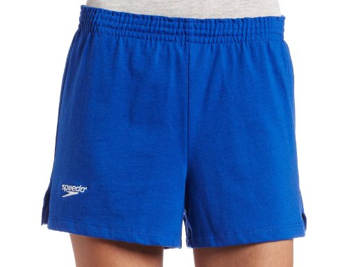 Speedo Womens Lifeguard Roll Short, Sapphire, (Lifeguard Roll)