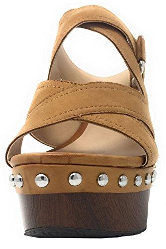 camel FLDAR1SUE03 Sandalias color Guess Mujer 4EYqnpw7