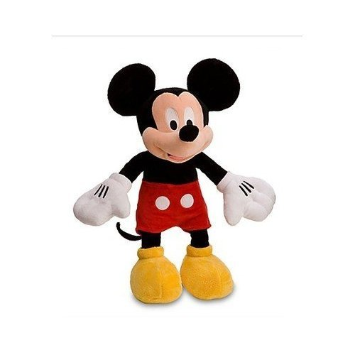 Nip Disney Mickey Mouse (Disney Mickey Mouse Plush Toy,Red Shorts,Yellow Shoes,17