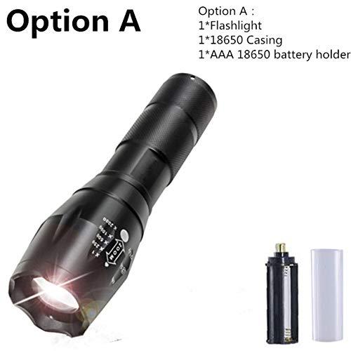 A Q5: 1/2/4 pcs linterna LED XM-L L2 linterna linterna linterna de luz de flash impermeable Zoomable CREE linternas para 18650 batería recargable o AAA a874c8