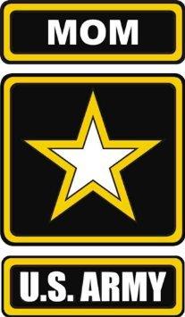 United States Army Star Mom Decal Sticker 5.5