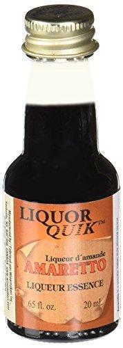 Liquor Quik, Amaretto .65fl oz/20mL ()