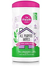 Dapple Baby All Purpose Cleaning Wipes, Fragrance Free, 75ct