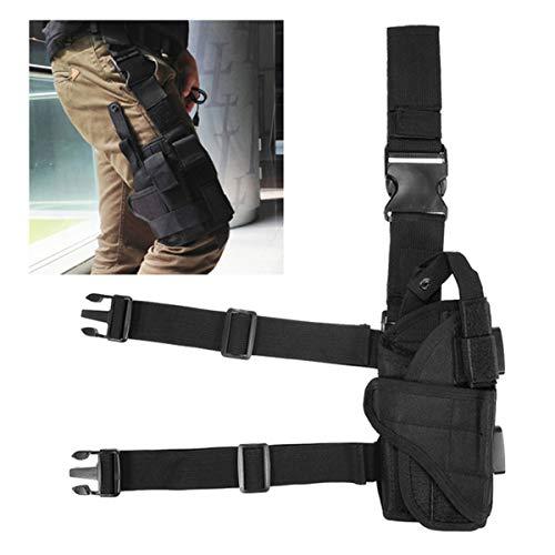 Winwinfly Ajustable Tactique puttee Cuisse Jambe Shoulder Pistolet Holster Sac de Chasse en Plein air Accessoires 1