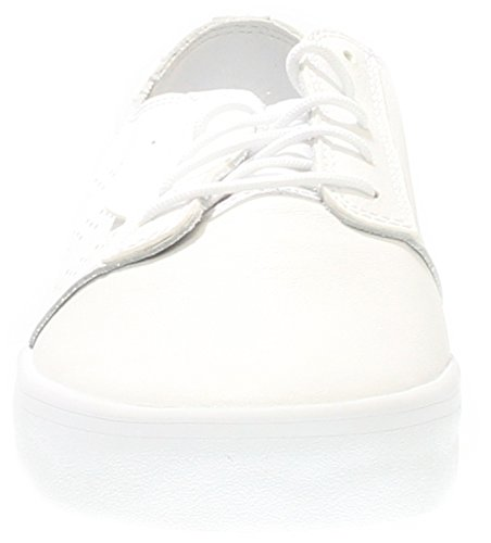 Adidas Originals Mens Seeley Essentiële Skateboarden Schoen Wit / Wit / Wit