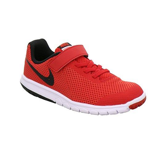 Nike Boys' Flex Experience 5 (PSV) Pre-School Shoe #844996-600 (2.5 Little Kid M, University RED/Black-Black-White)
