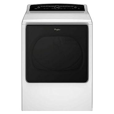 Whirlpool WGD8000DW 8.8 Cu. Ft. White Gas Dryer