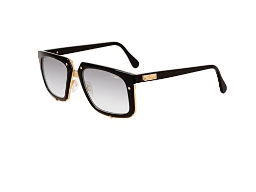 e5e933413a5 CAZAL VINTAGE 643 001 SUNGLASSES BLACK GOLD  Amazon.co.uk  Clothing