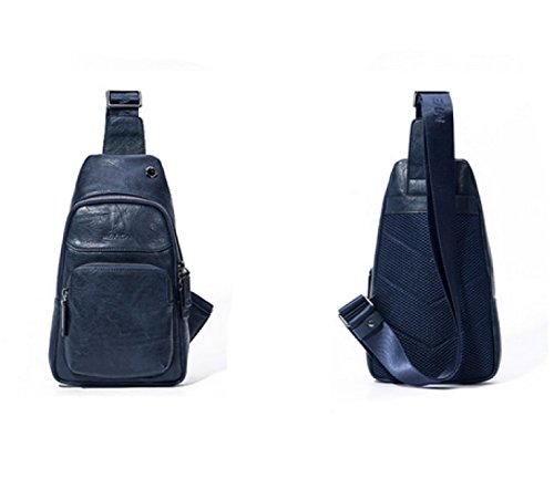 Sports Travel Bag Package Leisure Messenger Blue purpose Laidaye Chest Shoulder Business Backpack Multi XZEqn55Rx