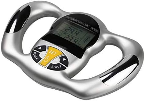 1x Digital LCD Screen Handheld BMI Tester Body Fat Meter Health Care Analyzer