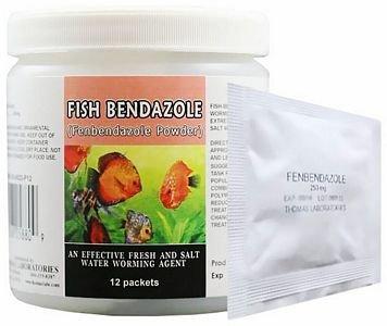 Thomas Labs Fish Bendazole 250mg Fenbendazole Powder (12 ()