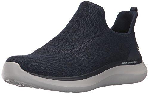 Navy Men's Flex Skechers Quantum Sneaker 8SX64wxpq