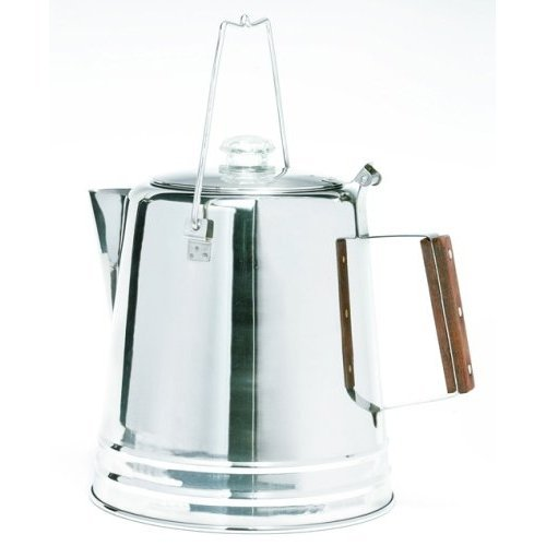 Texsport Stainless Steel Coffee Percolator by Texsport