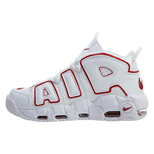 Air Taglia Nike Scarpe '96 Bianco 921948 More Basse 42 Unisex Sneakers 102 Uptempo xYvpqYBr