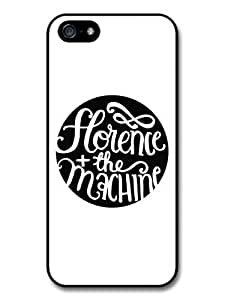 Florence + the Machine Black and White Circle Logo Case For Iphone 4/4S Cover