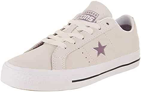 e0710f988c3 Converse Unisex One Star Pro Ox Egret Violet Dust White Skate Shoe 11 Men