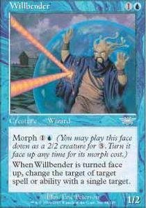 (Magic: the Gathering - Willbender - Legions - Foil by Magic: the Gathering)