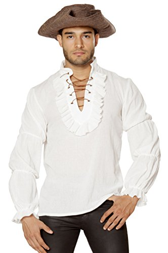 Captain Morgan Ivory Pirate Shirt