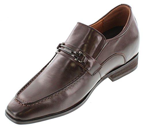 aumentare colore 65032 7 altezza 62 CALTO cm 3 scarpe Inches scuro marrone Tappetto G ascensore z7wT5q5