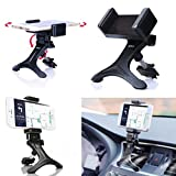 Mchoice Black Car Air Vent Mount Cradle Holder Stand for Mobile Smart Cell Phone GPS