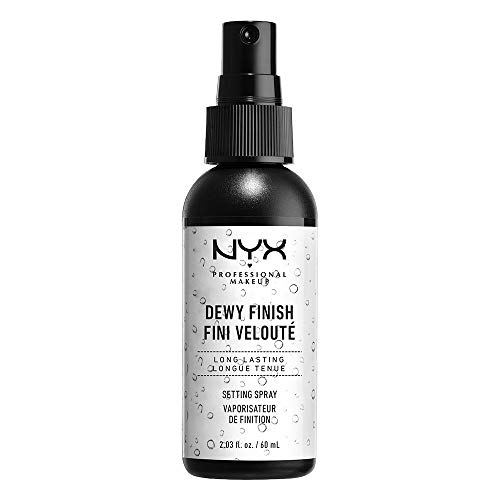 NYX Professional Makeup Make Up Setting Spray Dewy Finish, 2.03 Fl Oz (Best Makeup Setting Powder For Combination Skin)