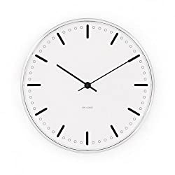 City Hall Wall Clock white/Size 3/29cm