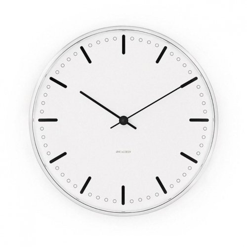City Hall Wall Clock white/Size 3/29cm