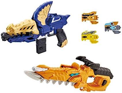 [해외]기사 용 편대 リュウソウジャ? リュウソウゴ?ルド 최강 용 고급 세트-DX モサチェンジャ? 및 モサブレ?ド- / Knight Dragon Squadron Ryusoja Ryusou Gold Strongest Dragon Dress Set -DX Mosachanger & Mosa Blade -