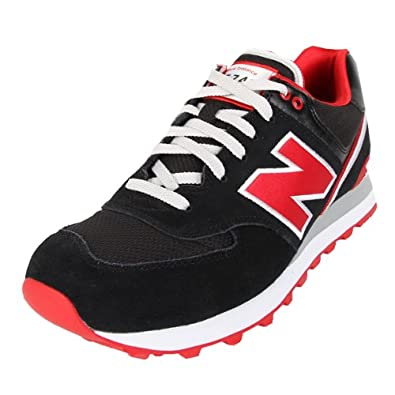 fd9144dc31f New Balance ML 574 SJK Black Red 43  Amazon.co.uk  Shoes   Bags