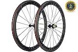 Superteam 700c Full Carbon 50mm Clincher Carbon Wheelset with 3k Matte Finish Wheels