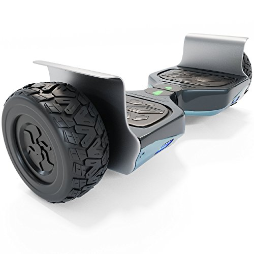 Hoverboard Self Balancing Scooter UL2272 Certified Offroad All Terrain 8.5″ Wheels for indoor and outdoor with LED headlights