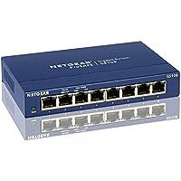 GS108NA - Netgear ProSafe GS108 Ethernet Switch 8 x 10/100/1000Base-T