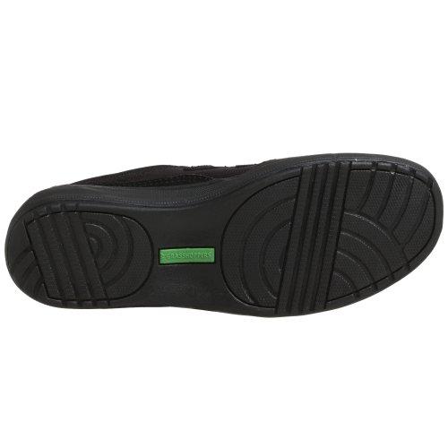 Cavalletto Da Donna Elasticizzato Più Sneaker Hook-and-loop Nero