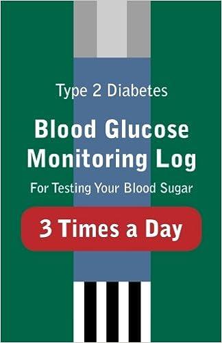 type 2 diabetes blood glucose monitoring log for testing your blood