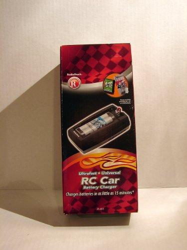 Radio Shack Remote Control Car Battery Charger - 6.0v, 7.2v or 9.6v Rc Batteries - 15 Minutes