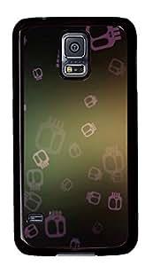 Samsung Galaxy S5 Falling Skulls PC Custom Samsung Galaxy S5 Case Cover Black