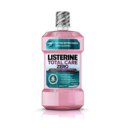 Listerine Total Care Zero Anticavity Mouthwash, Fresh