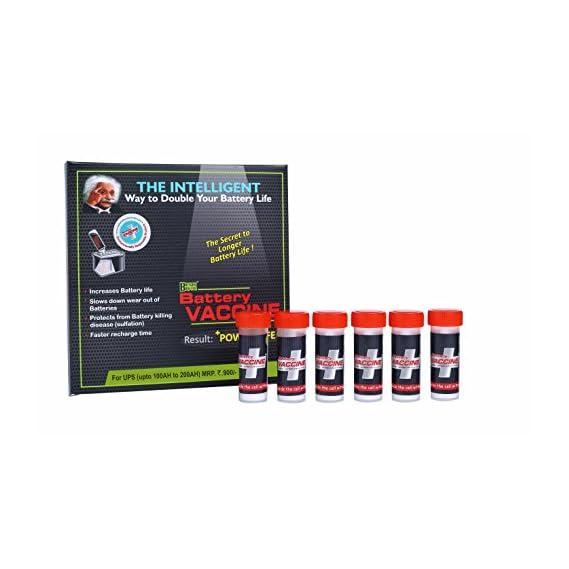 BATTERY BOOSTER Battery Vaccine - UPS/Inverter Additive/Life Enhancer/Reviver/Conditioner/Recovery/Rejuvanator