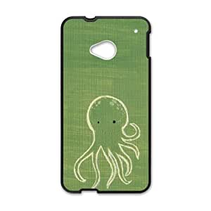 octopus HTC One M7 Cell Phone Case Black gift PJZ003-7539551