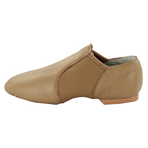 Jazz MSMAX MSMAX Adults Leather Dance Adults Brown Shoes Jazz Leather qa7AYx