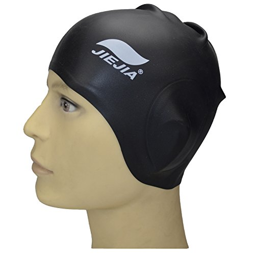 JIEJIA Swim Cap for Women and Men Swimming Cap Long Hair to Keep ...