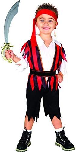 Bodysocks Fancy Dress Disfraz de Pirata de los Siete Mares para ...