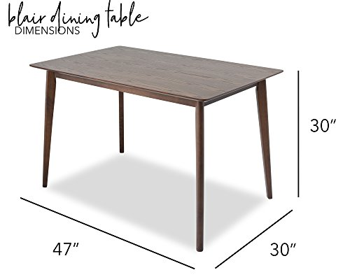 Blair Small Dining Table Mid Century Modern Dining Table